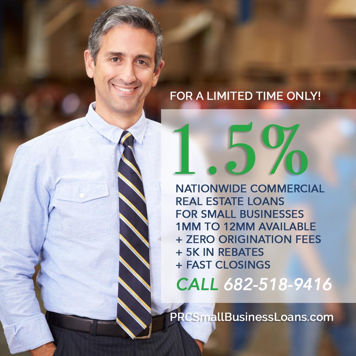 Real Estate Small Business Loans Pioneer Realty Capital Arlington Texas